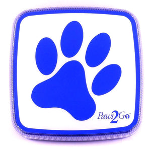 Front of the Paws2Go device for dog potty training