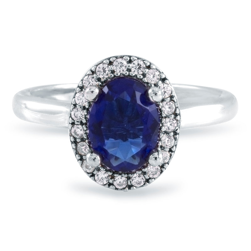 Anillo Blue Royal