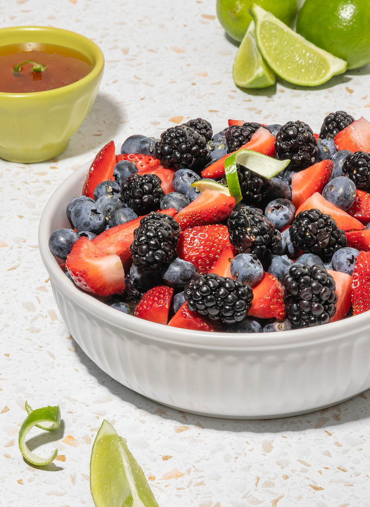 Berry Salad with Honey Lime Dressing Recipe