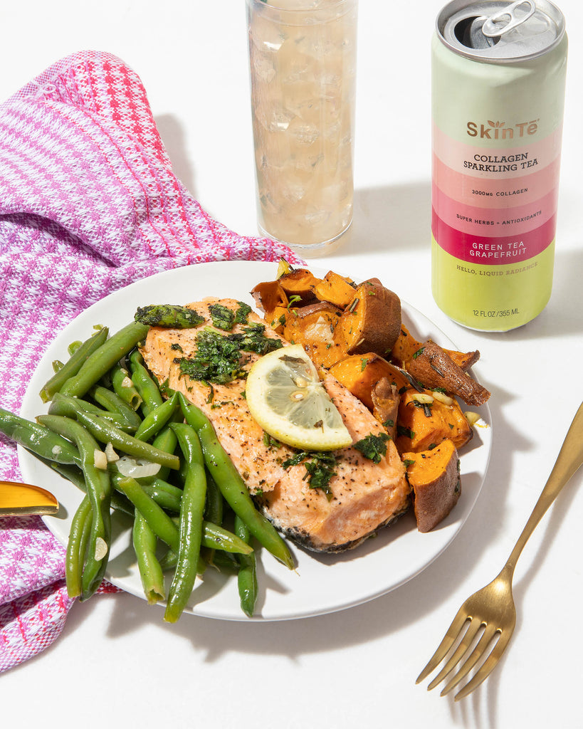 SkinTe and Salmon Meal
