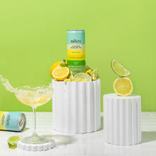 Load image into Gallery viewer, SkinTē Lemon Lime 12-pack Collagen Sparkling Tea