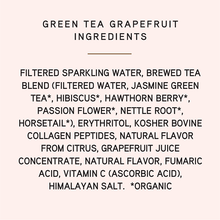Load image into Gallery viewer, Green Tea Grapefruit 6-Pack
