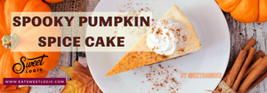 Delicious and Spooky Pumpkin Spice Cake