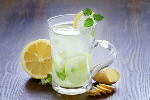 mint ginger lemonade nausea recipe