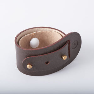Alex nausea remedy acupressure leather bracelet