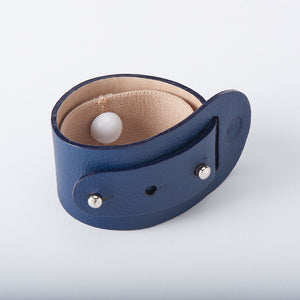 Clare nausea remedy leather bracelet