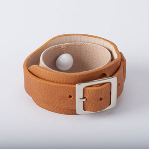 Lucy nausea remedy acupressure leather bracelet