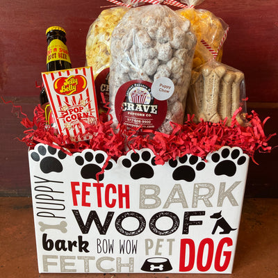 Puppy Love & Popcorn Gift Box - Large