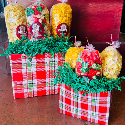 Holiday Plaid Gift Box