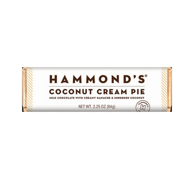 Hammond's Coconut Cream Pie Chocolate Bar