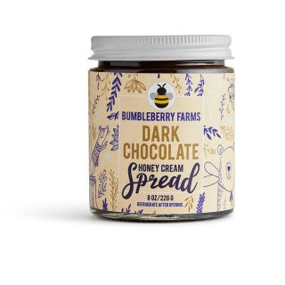 Bumbleberry Farms Dark Chocolate Honey Cream Spread