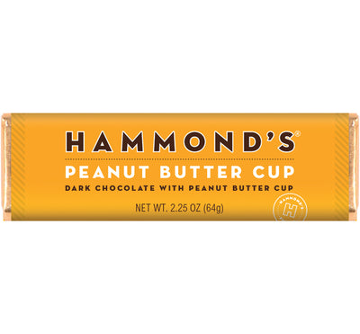 Hammond's Peanut Butter Cup Chocolate Bar