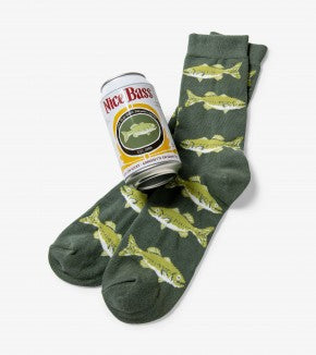 Beer Can Socks: Nice Bass