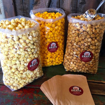 Popcorn Bar for 25 Guests