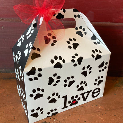 Puppy Love & Popcorn Gable Box