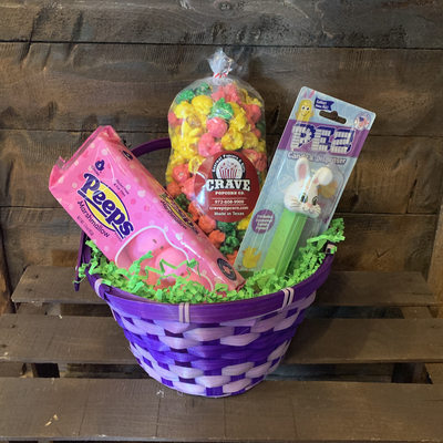 Purple Easter Basket