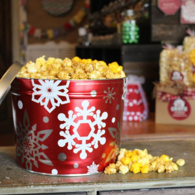 Snowflake 2 gallon Tin