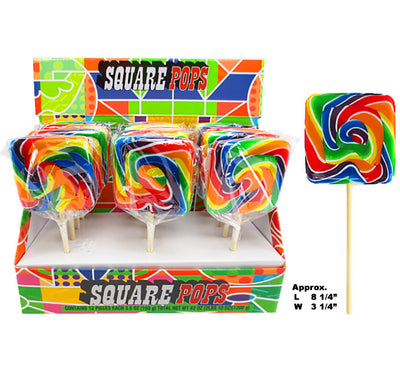 Wild West Square Lollipop