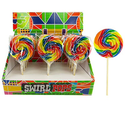 Wild West Swirl Lollipop