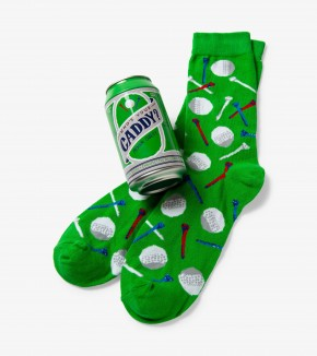 Beer Can Socks: Who's Your Caddy