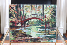 William and Mary Crim Dell Bridge Painting - Miles Morin Fine Art