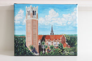 UF Century Tower Painting - Miles Morin Fine Art