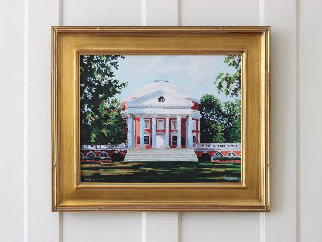 Premium Framed UVA Rotunda - signed and numbered - Miles Morin Fine Art