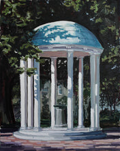 UNC Chapel Hill Old Well Painting