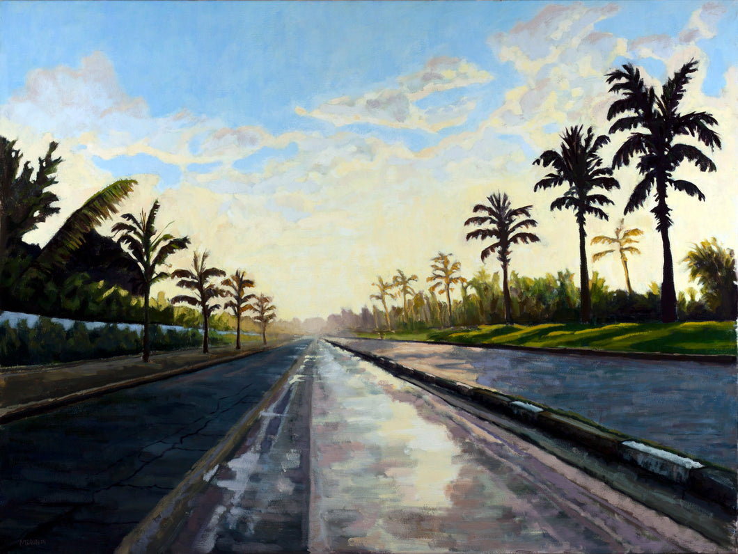 Brazilian Sunrise 48x36 oil on canvas - Miles Morin Fine Art