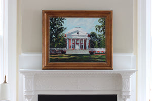 UVA Rotunda Painting