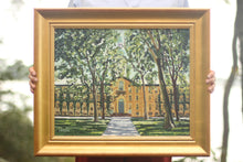 Princeton Nassau Hall Painting