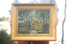 Nassau Hall Painting