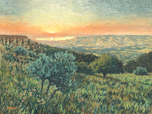 The Sea of Galilee (100% of profits to charity) - Miles Morin Fine Art