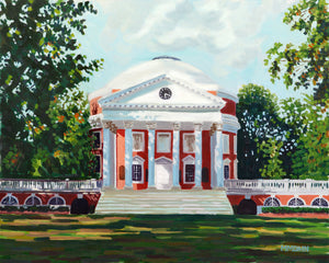 UVA Rotunda Notecards - Miles Morin Fine Art