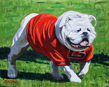 UGA Georgia Bulldog Painting