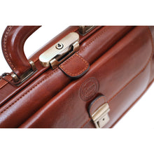 Cenzo Italian Leather Doctor Bag Briefcase Satchel 5