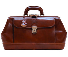 Cenzo Italian Leather Doctor Bag Briefcase Satchel 3