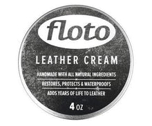 Floto leather conditioner cream