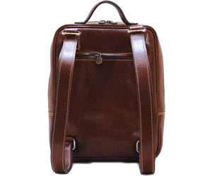 Cenzo Italian Leather Backpack Laptop Bag Knapsack 3