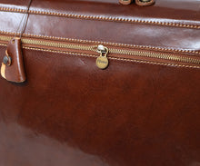 Cenzo Italian Leather Briefcase Messenger Bag 9