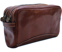 Cenzo Leather Dopp Kit