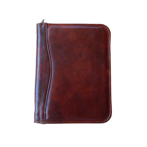 Cenzo Italian Leather Portfolio Organizer Tablet Case 4