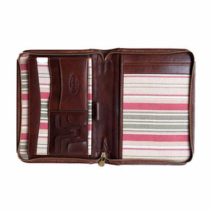 Cenzo Italian Leather Portfolio Organizer Tablet Case 5