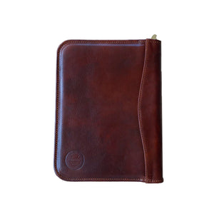 Cenzo Italian Leather Portfolio Organizer Tablet Case 6