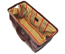Cenzo Italian Leather Trolley Bag Wheeled Luggage 4