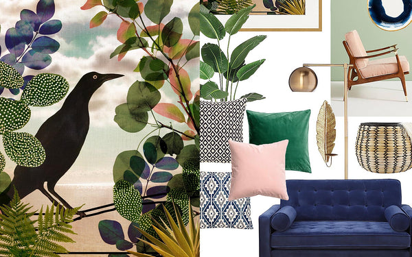 Refined Boho Living Room Decor