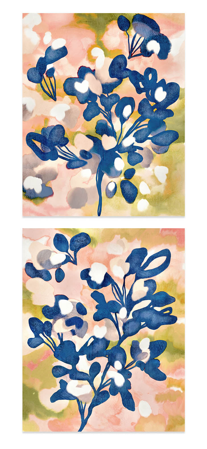 Flourish - Set of Two Art Prints