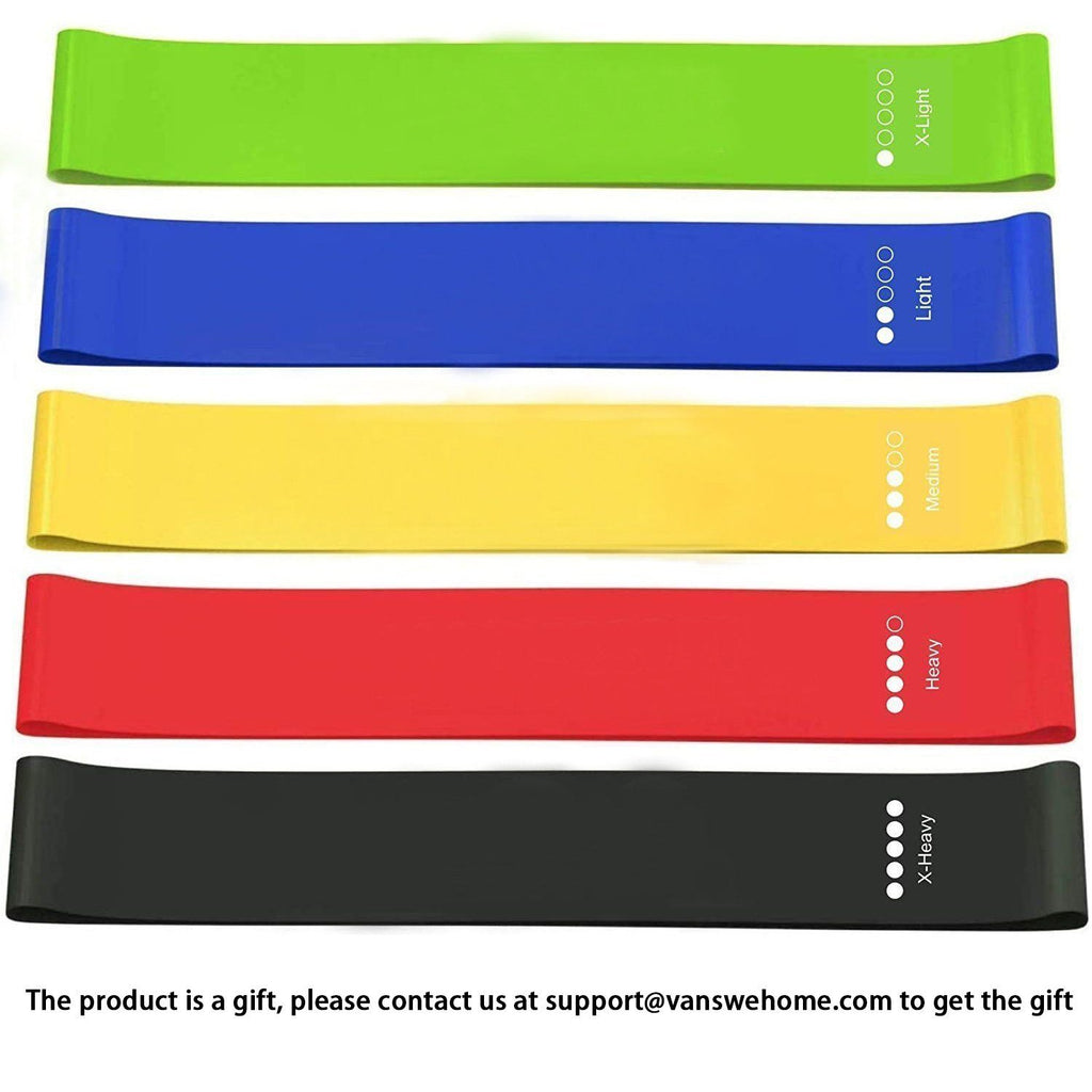 Resistance Bands Set for Men & Women VansweFitness