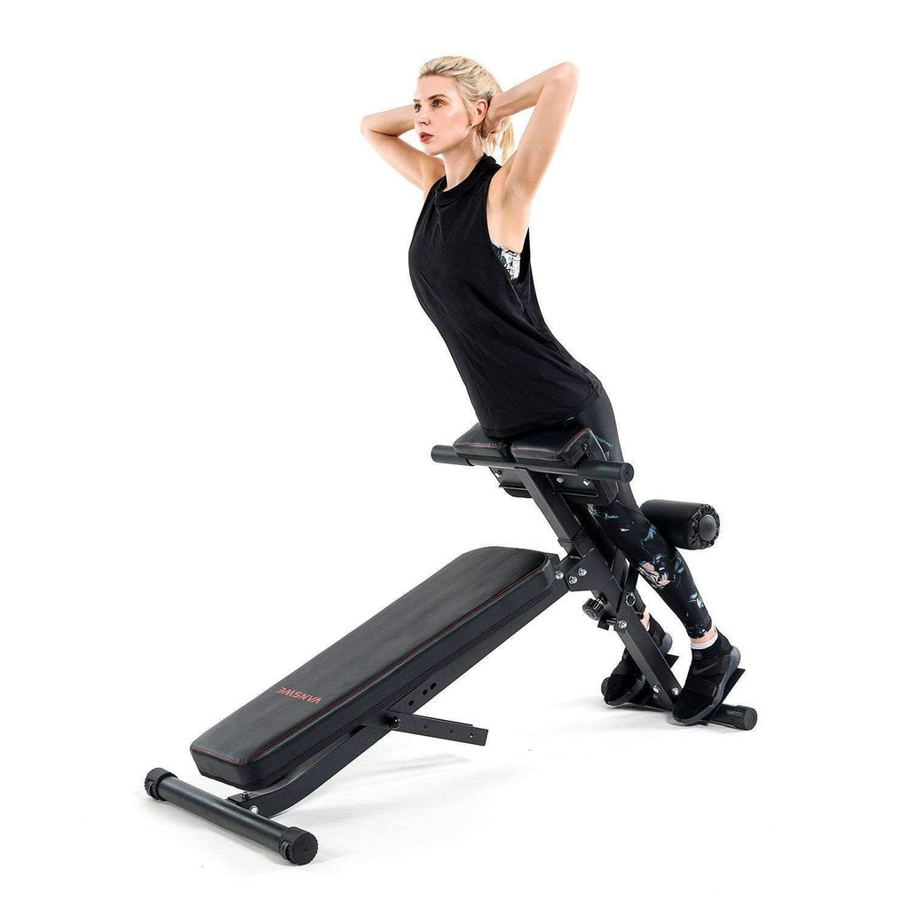 VANSWE Multi-Workout Abdominal Back Extension Bench Vanswe
