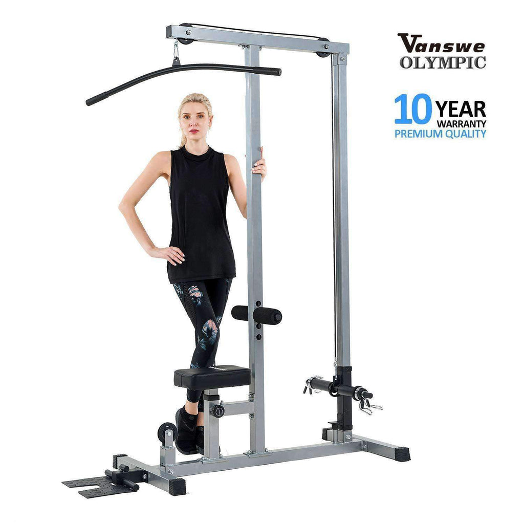 VANSWE 2020 LAT Pulldown Machine Low Row Cable Pull Down Vanswe